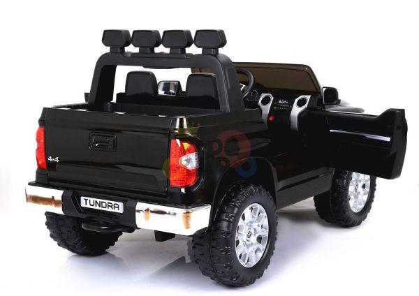 kidsvip 12v toyota tundra kids ride on car 2 seater black 16