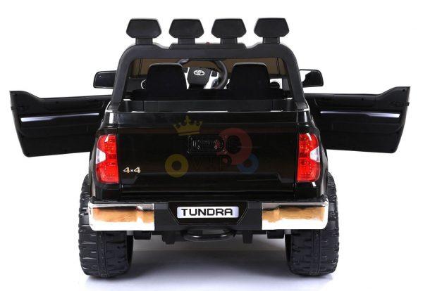 kidsvip 12v toyota tundra kids ride on car 2 seater black 17