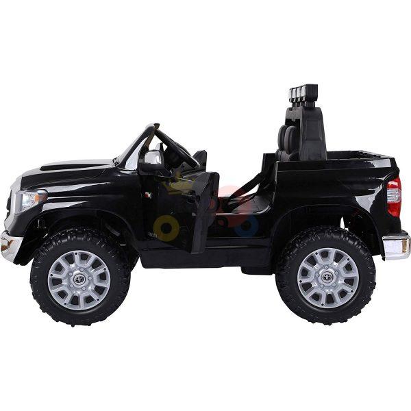 kidsvip 12v toyota tundra kids ride on car 2 seater black 4