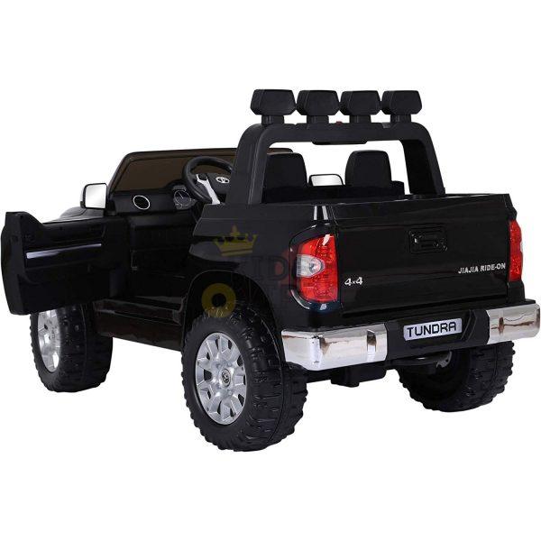 kidsvip 12v toyota tundra kids ride on car 2 seater black 9