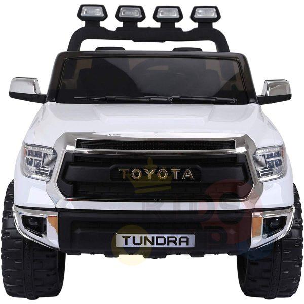 kidsvip 12v toyota tundra kids ride on car 2 seater white 10