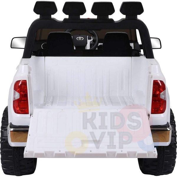 kidsvip 12v toyota tundra kids ride on car 2 seater white 13