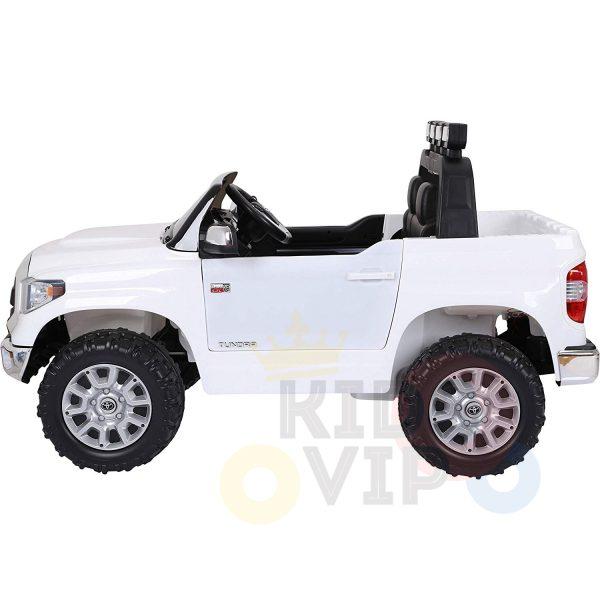 kidsvip 12v toyota tundra kids ride on car 2 seater white 2