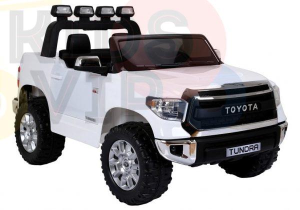 kidsvip 12v toyota tundra kids ride on car 2 seater white 5