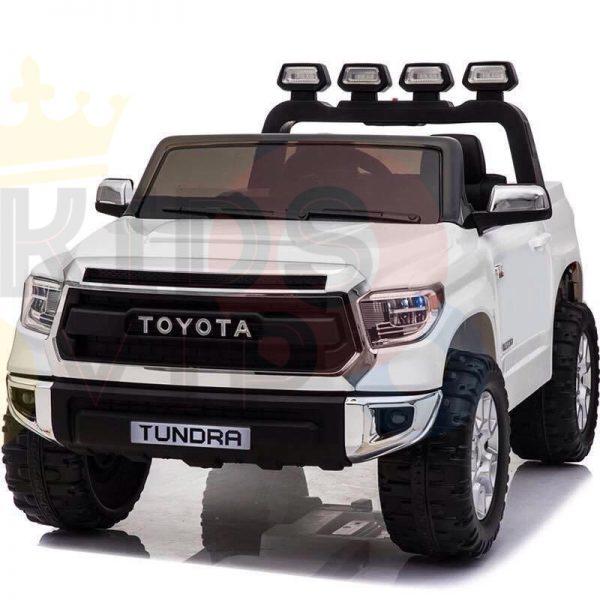 kidsvip 12v toyota tundra kids ride on car 2 seater white 9