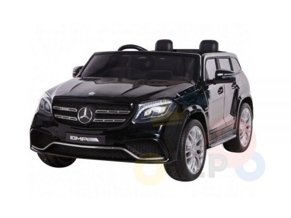 kidsvip mercedes gls kids and toddlers 2  seater ride car black 37