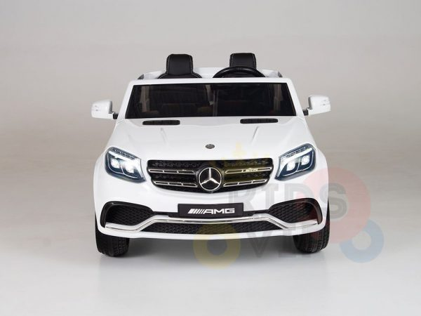 kidsvip mercedes gls kids and toddlers 2  seater ride car white 10 1