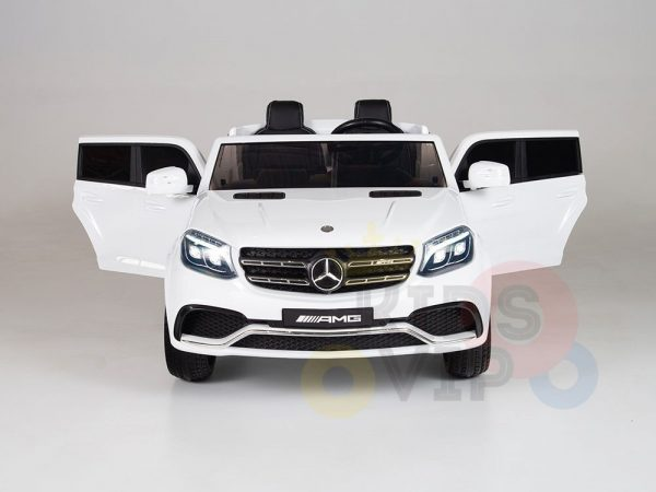 kidsvip mercedes gls kids and toddlers 2  seater ride car white 11 1