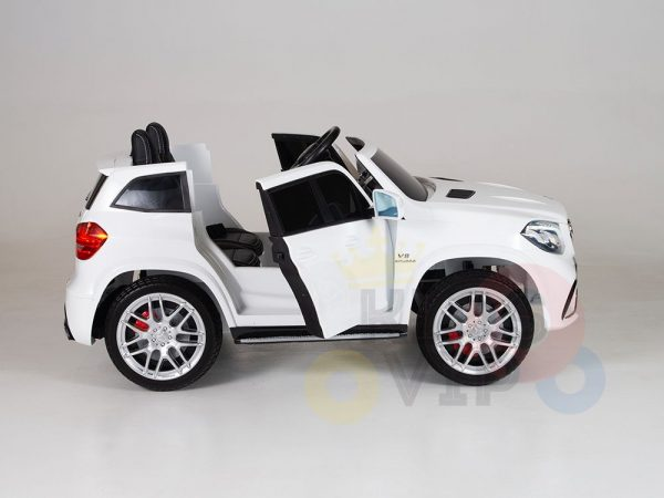 kidsvip mercedes gls kids and toddlers 2  seater ride car white 15 1