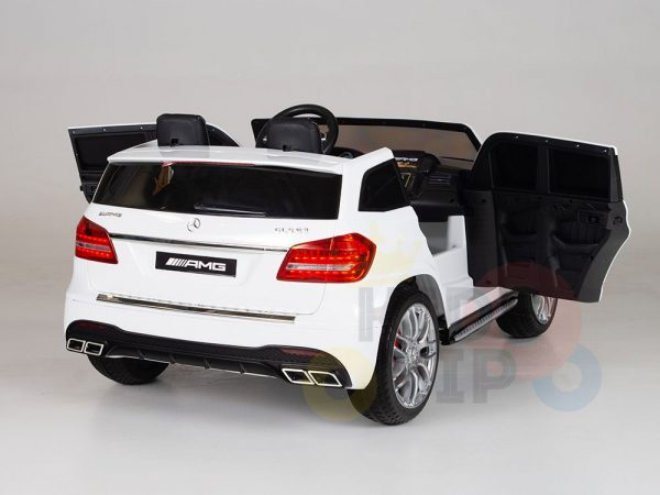 kidsvip mercedes gls kids and toddlers 2  seater ride car white 16 1