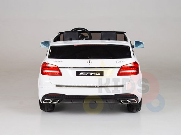 kidsvip mercedes gls kids and toddlers 2  seater ride car white 18 1