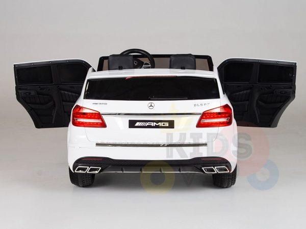 kidsvip mercedes gls kids and toddlers 2  seater ride car white 19 1