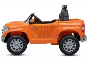 kidsvip 12v toyota tundra kids ride on car 2 seater orange 10