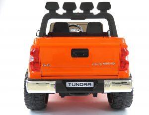 kidsvip 12v toyota tundra kids ride on car 2 seater orange 12 scaled