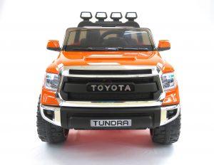 kidsvip 12v toyota tundra kids ride on car 2 seater orange 13 scaled