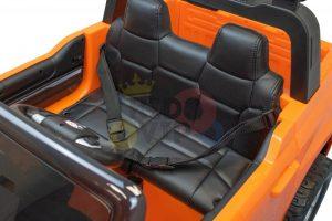 kidsvip 12v toyota tundra kids ride on car 2 seater orange 3
