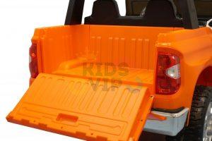 kidsvip 12v toyota tundra kids ride on car 2 seater orange 5