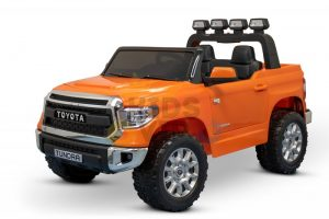 kidsvip 12v toyota tundra kids ride on car 2 seater orange 8