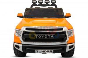 kidsvip 12v toyota tundra kids ride on car 2 seater orange 9