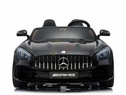 kidsvip mercedes benz gtr 2 seater kids and toddlers ride on car black 1