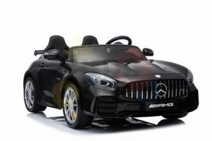 kidsvip mercedes benz gtr 2 seater kids and toddlers ride on car black 12