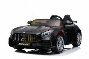 kidsvip mercedes benz gtr 2 seater kids and toddlers ride on car black 13