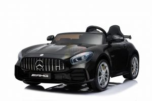 kidsvip mercedes benz gtr 2 seater kids and toddlers ride on car black 2