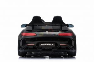kidsvip mercedes benz gtr 2 seater kids and toddlers ride on car black 4
