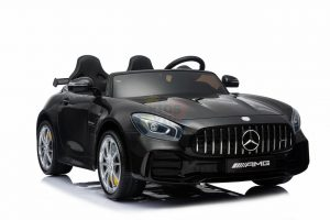 kidsvip mercedes benz gtr 2 seater kids and toddlers ride on car black 6