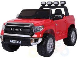 kidsvip 12v toyota tundra kids ride on car 2 seater red 1