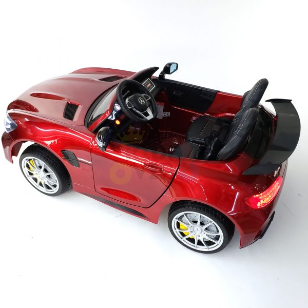 kidsvip mercedes benz gtr 2 seater kids and toddlers ride on car red 13