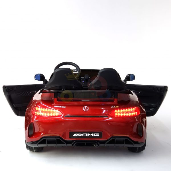 kidsvip mercedes benz gtr 2 seater kids and toddlers ride on car red 24