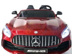 kidsvip mercedes benz gtr 2 seater kids and toddlers ride on car red 3