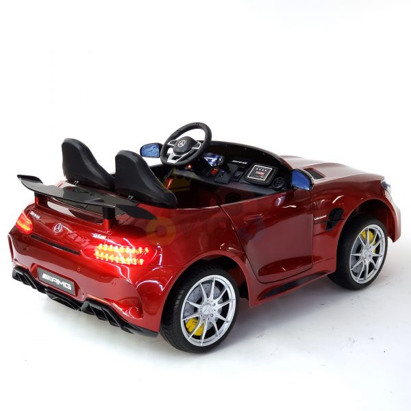 kidsvip mercedes benz gtr 2 seater kids and toddlers ride on car red 33