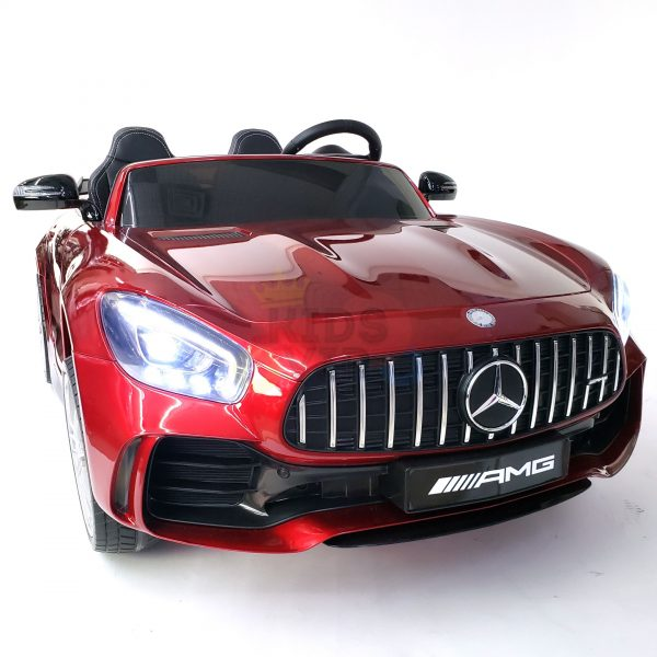 kidsvip mercedes benz gtr 2 seater kids and toddlers ride on car red 40