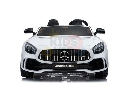 kidsvip mercedes benz gtr 2 seater kids and toddlers ride on car white 44