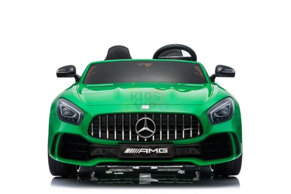 kidsvip mercedes benz gtr 2 seater kids and toddlers ride on car green 1