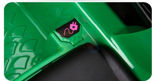 kidsvip mercedes benz gtr 2 seater kids and toddlers ride on car green 14