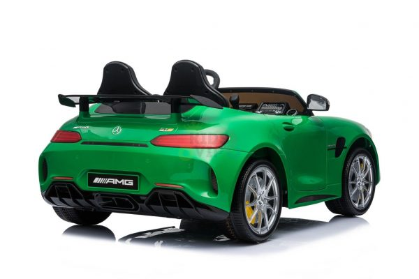 kidsvip mercedes benz gtr 2 seater kids and toddlers ride on car green 5