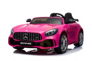 kidsvip mercedes benz gtr 2 seater kids and toddlers ride on car pink 14
