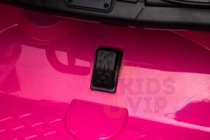 kidsvip mercedes benz gtr 2 seater kids and toddlers ride on car pink 8