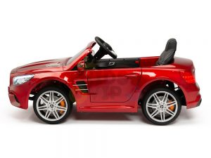KIDSVIP MERCEDES SL500 KIDS RIDE ON CAR 12 toddlers powered car rubber wheels leather seat red 12