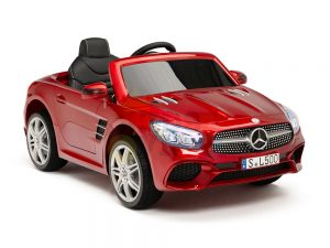 KIDSVIP MERCEDES SL500 KIDS RIDE ON CAR 12 toddlers powered car rubber wheels leather seat red 22