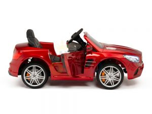 KIDSVIP MERCEDES SL500 KIDS RIDE ON CAR 12 toddlers powered car rubber wheels leather seat red 27