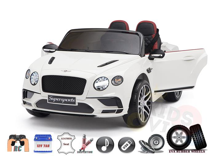 Licensed Bentley Sport GT Edition 12V Kids Ride On Car With Remote Control