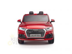 KIDSVIP 2 Seater 24v ride on car audi for kids and toddlers remote red 12