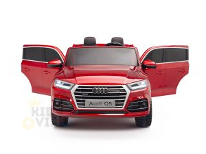 KIDSVIP 2 Seater 24v ride on car audi for kids and toddlers remote red 13