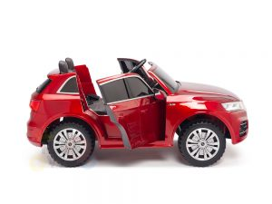KIDSVIP 2 Seater 24v ride on car audi for kids and toddlers remote red 18