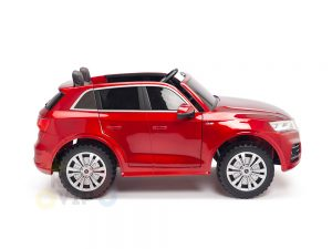 KIDSVIP 2 Seater 24v ride on car audi for kids and toddlers remote red 19