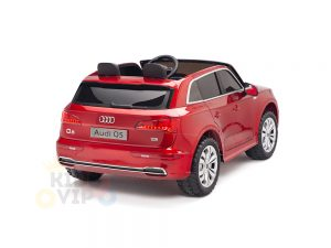 KIDSVIP 2 Seater 24v ride on car audi for kids and toddlers remote red 20